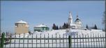 Владимирская горка - территория Спасо-Преображенского женского монастыря