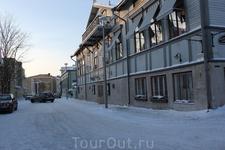 улицы города Савонлинна