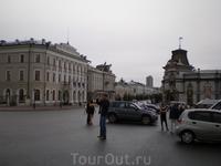 Возле Казанского Кремля