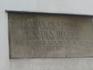 Регенсбург. Мемориальная доска о дате строительства крепости Порта  Претория