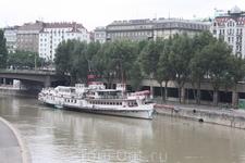 Прогулка по городу. Дунайский канал.