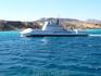 Морское судно с прозрачным дном