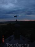 Вид с крыши Шато