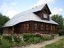 Дом на территории Покровского монастыря.