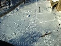 Лирика на снегу.