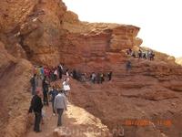 Красный каньон...