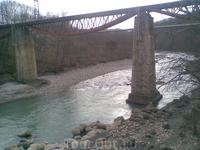 р. Белая, ж/д мост