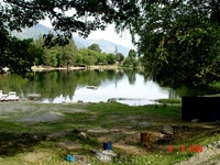 Высокогорное озеро