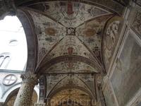 Флоренция . Роспись свода в Палаццо Веккио