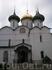 А это я записала))) Спасо-преображенский Собор! Главный храм монастыря.