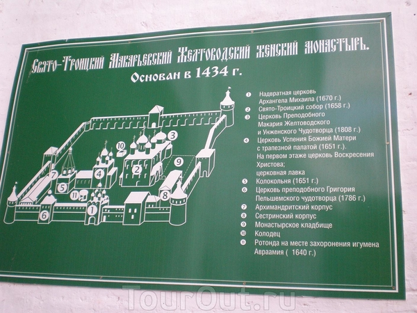 Поездка в Макарьевский монастырь Нижний Новгород, Россия.