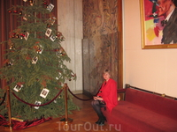 Венская опера. У елочки. Рождество все-таки...