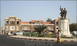 жд вокзал в Дакаре
