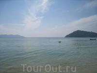 Дикий пляж на южной оконечности острова
