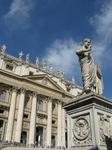 Собор св.Петра,статуя св.Петра с ключами от рая,Ватикан