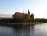 Остров Канта и кафедральный собор в лучах заката.