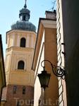 Варшава. Люблю старые фонари на узких улочках