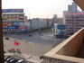 Вид на город из гостиницы