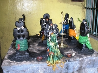 Место приношения даров при храме.