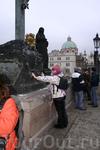 Один день в Праге. Карлов Мост. Загадываю желание.