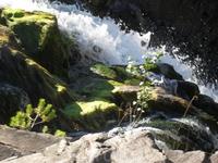 заповедник Кивач маленький водопадик