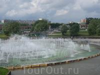Фонтан в Царицыно.