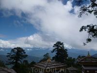 .Перевал Дочула.Высота 3150 м  .Бутан