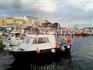 Порт Паламоса, куда пристают сотни рыбацких лодочек.
