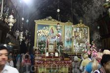 Гефсимания. Место погребения Божией Матери