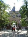 Николавские Триумфальные ворота (арка Цесаревича)