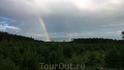 После дождя, две радуги