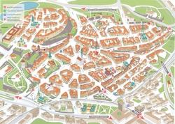 Карта Таллина с достопримечательностями