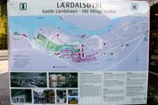 карта городка Лэрдал