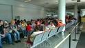 Время в ожидании самолета текло достаточно медленно и утомительно, т.к. к задержке рейса присовокупилось большое количество людей в маленьком душном зале ...