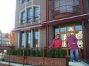 Отель Hanza. Мы жили на втором этаже, вид просто супер