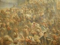 Маковский Константин Егорович (1939-1915) создал грандиозную картину «Минин на площади Нижнего Новгорода, призывающий народ к пожертвованиям» (1890-е годы) ...