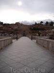 Толедо. На мосту Сан Мартин