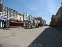 Улица Ленинградская.