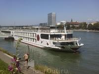 Сойдя на берег и сев в автобус, мы направились в Фрайбург