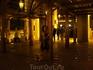 Мостик у Дубай Молла, после последнего фонтана