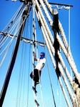 Пираты постарались передать нужную атмосферу