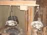 Медовые водопады; декоративное карачаевское подворье; весы для пожертвований