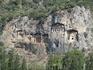 Древние Ликийские гробницы были высечены высоко в скалах, чтоб души умерших были ближе к богам