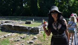 На раскопках святилища Деметры