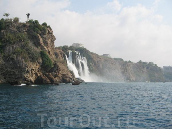 водопад Дюден-4 тонны пресной воды в минуту!!!!