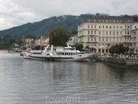 Колёсный пароход Gisela (построен в 1871 г.). На борту этого парохода бывал даже австрийский император Франц Иосиф.