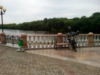 Пушкин на брегах Биры .