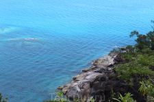 Живописная дорога на пляж Анс-Мажор