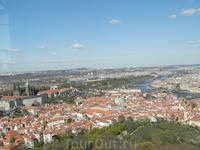 Вид с смотровой площадки башни. Петришен холм ( день второй)