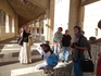 Это наша группа АРС-ПРЕСС, изучает иконы, подаренные Израилю со всех стран мира. Галерея великолепна, она единственная в своём роде.